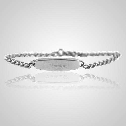 Pet Small Cremation Ashes Bracelet