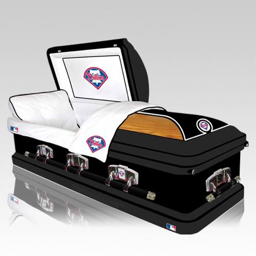 Philadelphia Phillies Casket