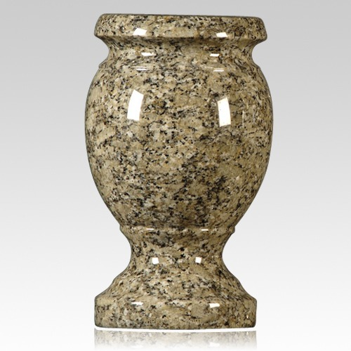 Pine Green Granite Vase