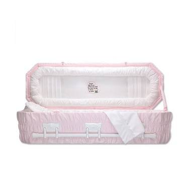Pink Flower Child Caskets