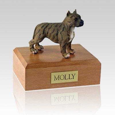 Pit Bull Terrier Brindle Brown Dog Urns