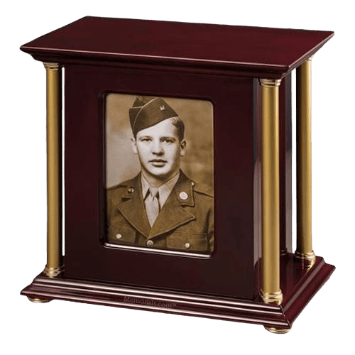 Pledge Military Cremation Urn