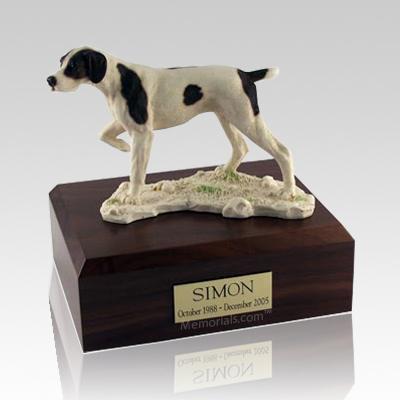 Pointer Dog Urns