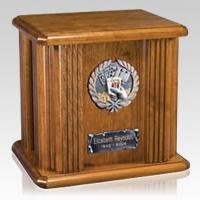 Poker Wood Cremation Urn