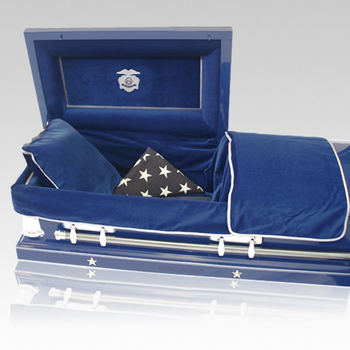 Police Officer Casket