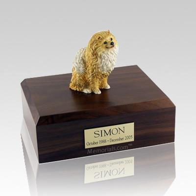 Pomeranian Brown Dog Urns