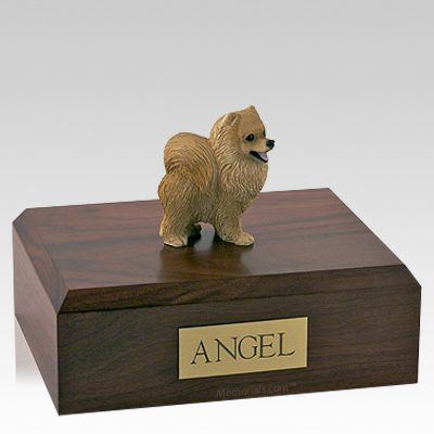 Pomeranian Red Dog Urns
