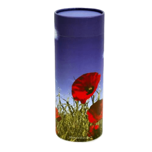 Poppy Scattering Biodegradable Urn
