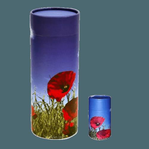 Poppy Scattering Biodegradable Urns