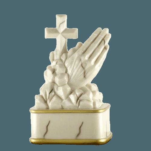 Praying Rosewood Cremation Urn