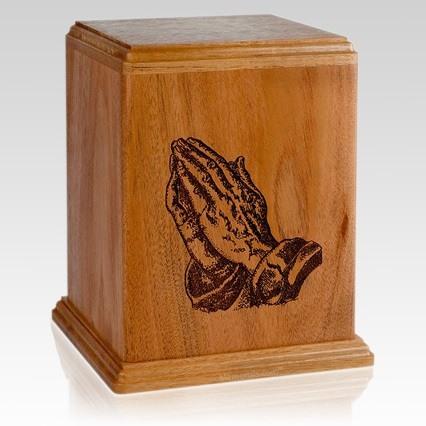 Praying Cremation Urn