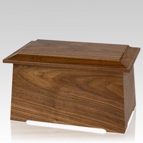 Prestige Walnut Cremation Urn