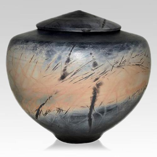 Primitive Pet Cremation Urn