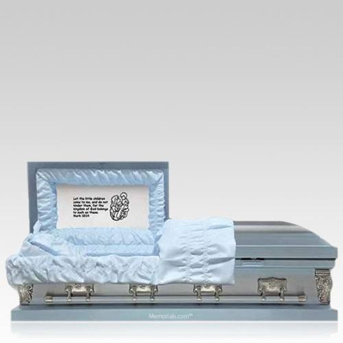 Psalm Blue Child Caskets