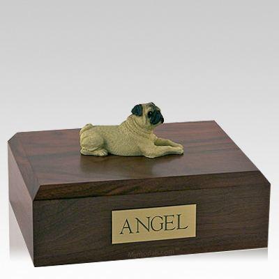 Pug Fawn Dog Urns