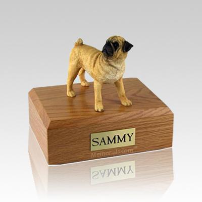 Pug Medium Dog Urn