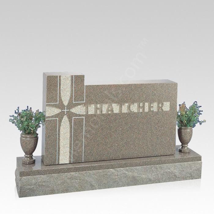 Radiance Upright Cemetery Headstone