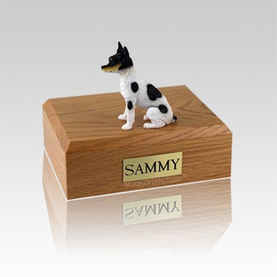 Rat Terrier Small Dog Urn