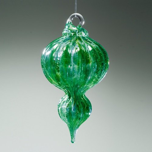 Recycled Glass Cremation Bauble