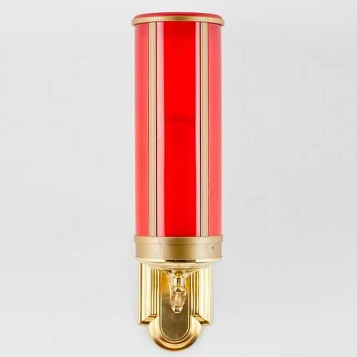 Red Wall Mount Memorial Candle
