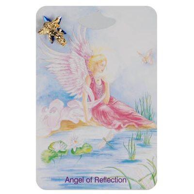 Reflection Angel Lapel Pins