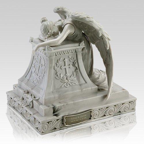 Resting Angel Cremation Urn