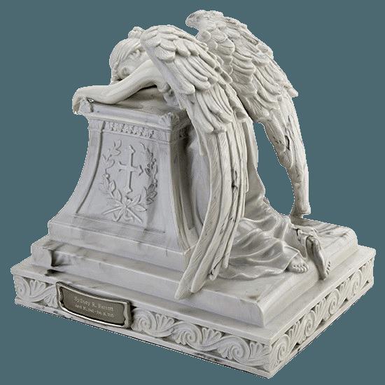 Resting Angel Keepsake Urn