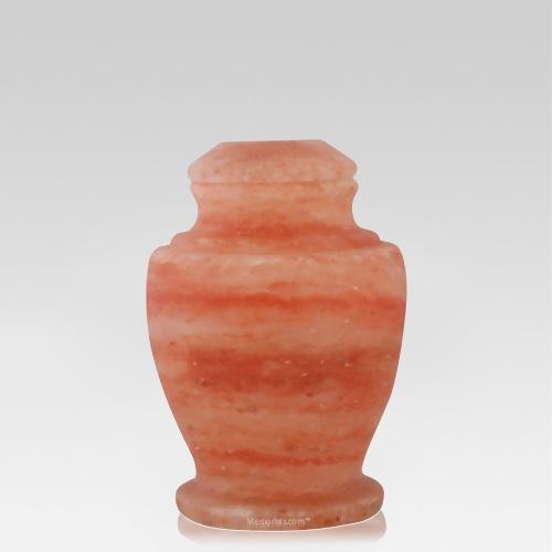 Rock Salt Child Cremation Urn