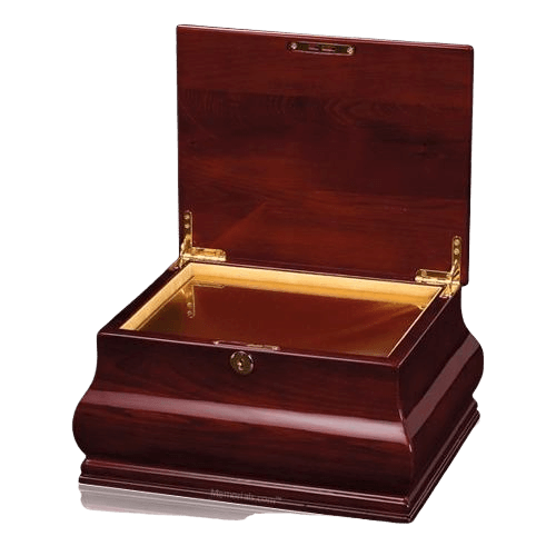 Romance Wood Cremation Urn