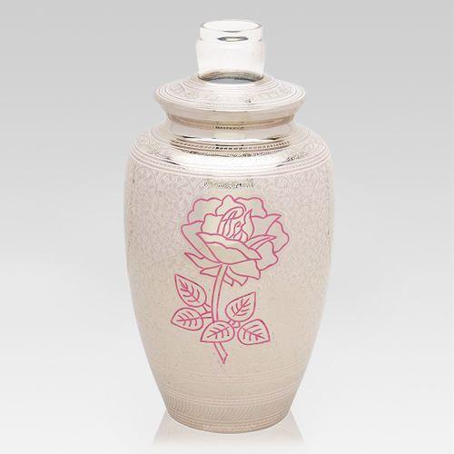 Rose Floral Cremation Urn