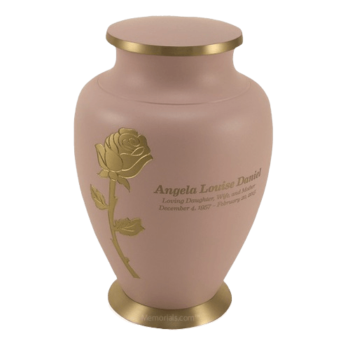 Rose Powder Cremation Urn