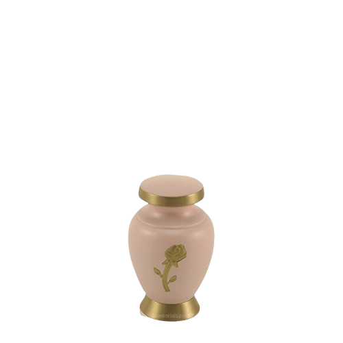 Rose Powder Keepsake Cremation Urn