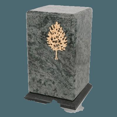 Grande Vert Jade Granite Urn
