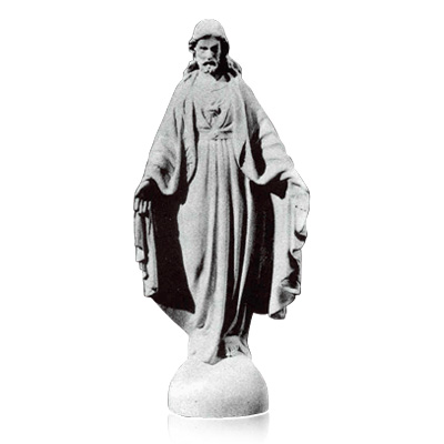 Sacred Heart of Jesus Prayer Marble Statues