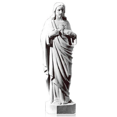 Sacred Heart of Jesus XX Large Marble Statues