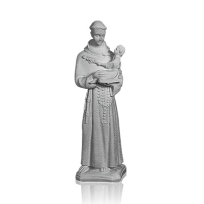 Saint Anthony With Child Small Marble Statues