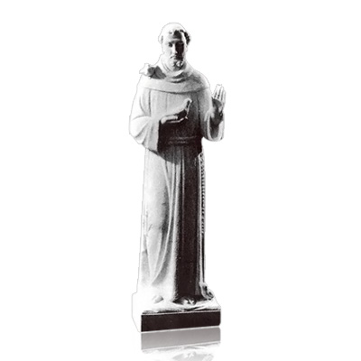 Saint Francis Of Assisi Small Marble Statues