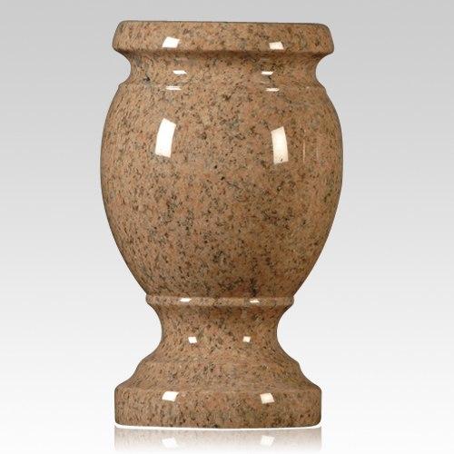 Salisbury Pink Granite Vase