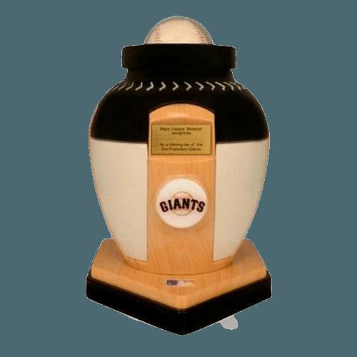 San Francisco Giants Baseball Cremation Urn