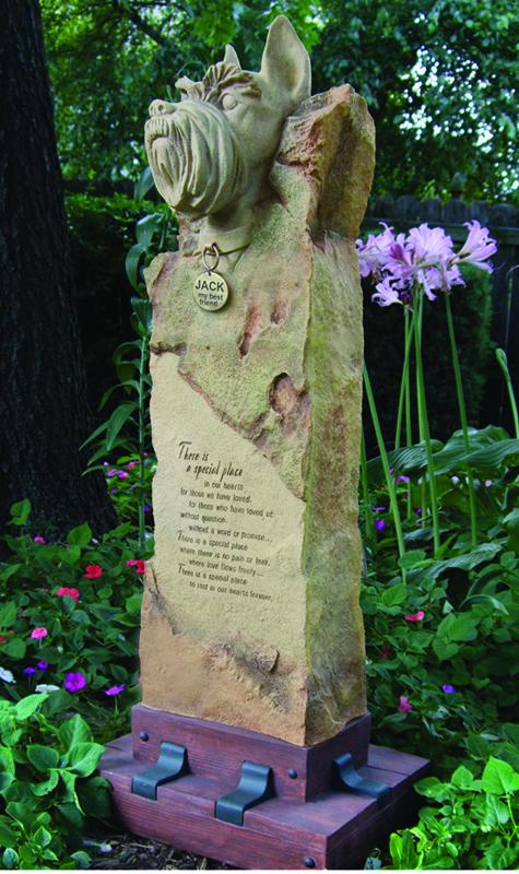 Schnauzer Large Cremation Memorial