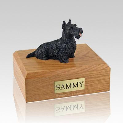 Scottish Terrier Black Dog Urns