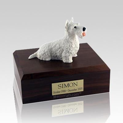 Scottish Terrier White Dog Urns