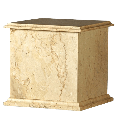 Seashell Eternity Marble Cremation Urn
