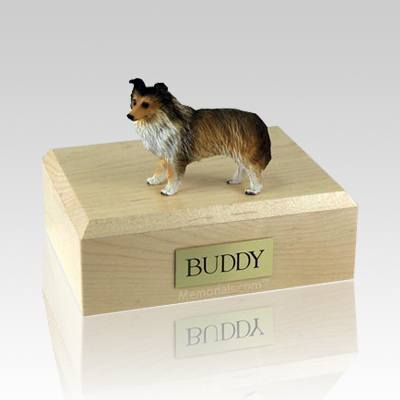 Sheltie Sable Dog Urns