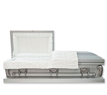Silver Sun Child Caskets