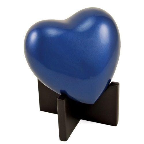 Sky Blue Keepsake Heart Urn