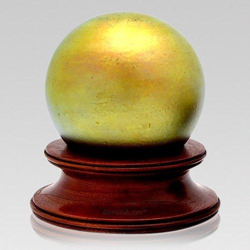 Sunburst Glass Child Cremation Urns