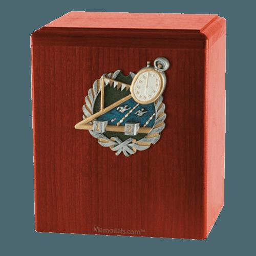 Swimmer Cherry Cremation Urn