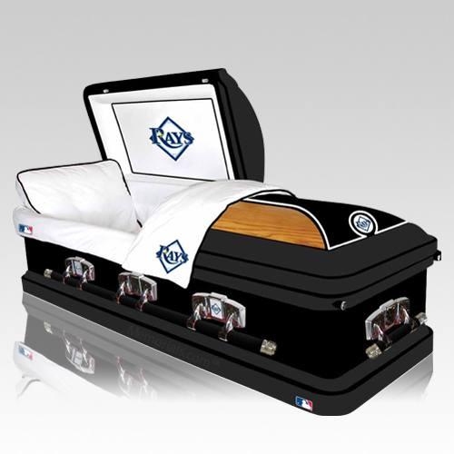 tampa bay devil rays casket tampa bay devil rays casket