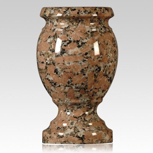 Texas Pink Granite Vase